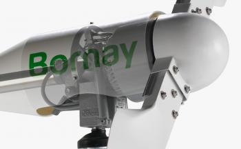 Turbina eoliana Bornay 3000 W 48V 2 lame si controller digital B3000/482