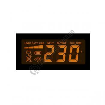 UPS Cyber Power VALUE800ELCD 800VA 480W AVR, LCD Display, 2 x Schuko outputs, USB & Serial port4