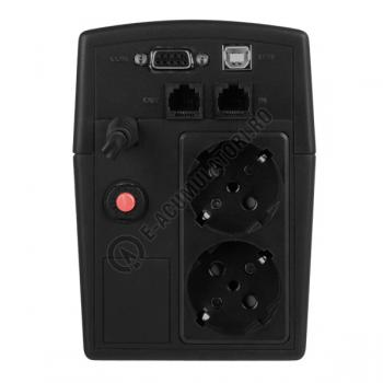 UPS Cyber Power VALUE800ELCD 800VA 480W AVR, LCD Display, 2 x Schuko outputs, USB & Serial port3