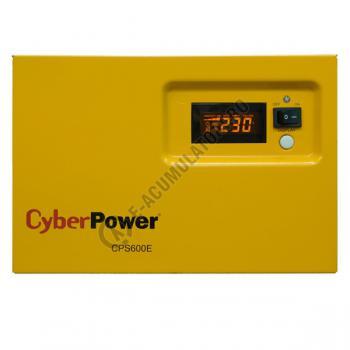 UPS pentru centrale termice Cyber Power CPS600E 600VA 420W + Acumulator 12V 72 Ah2