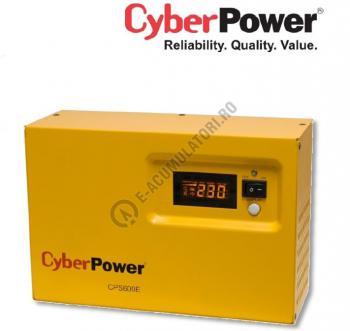 UPS pentru centrale termice Cyber Power CPS600E 600VA 420W + Acumulator 12V 72 Ah0