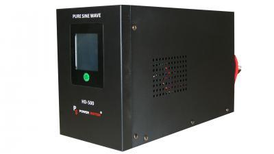 UPS pt Centrala Termica 500VA Sinus HD 400w Power Sistem + Acumulator 12V 72 Ah0