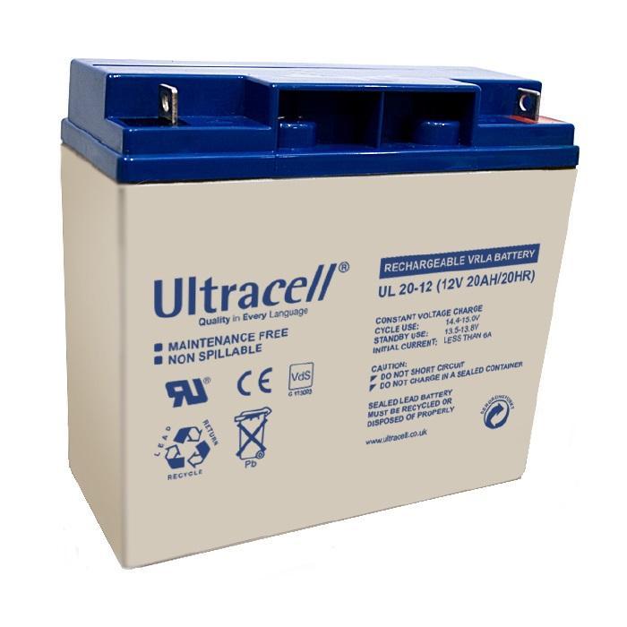 Acumulator VRLA ULTRACELL 12 V 20 Ah cod UL20-12-big