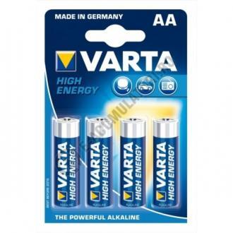 Baterii alcaline Varta High Energy AA  blister de 4 buc-big