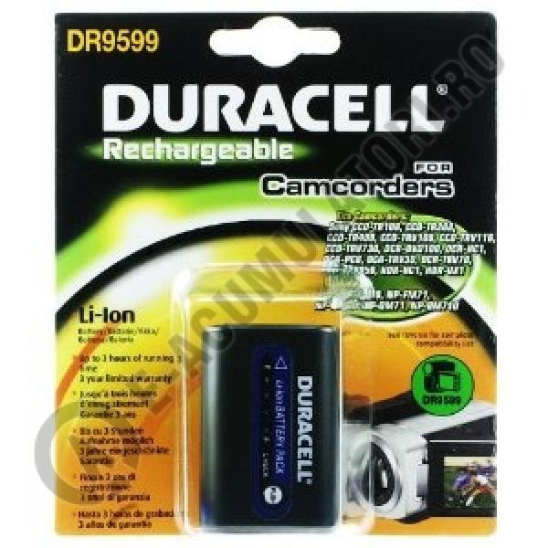 Acumulator Duracell DR9599 pentru camere video-big