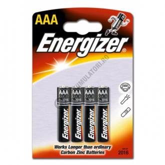 Baterii Alkaline Energizer Base AAA, blister de 3+1 buc.-big