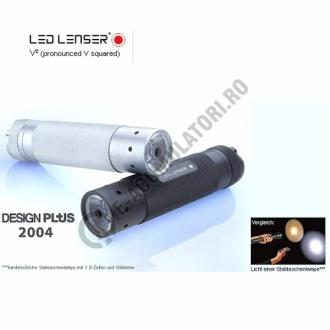 Lanterna LED LENSER V2 3XAAA + HUSA (A8.Z7636.TB)-big