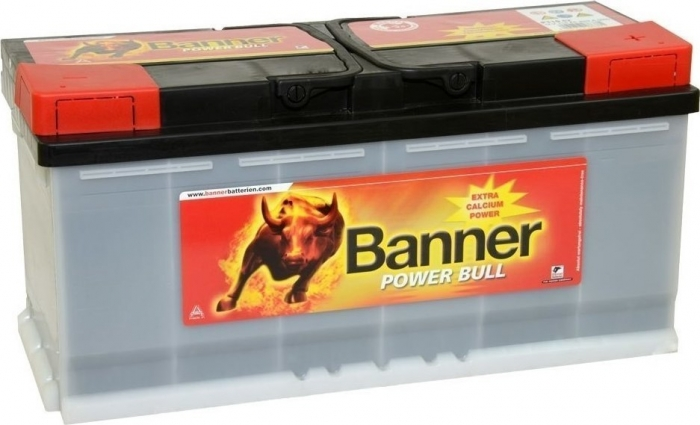 Baterie Auto Banner Power Bull PRO 110 Ah cod P11040-big
