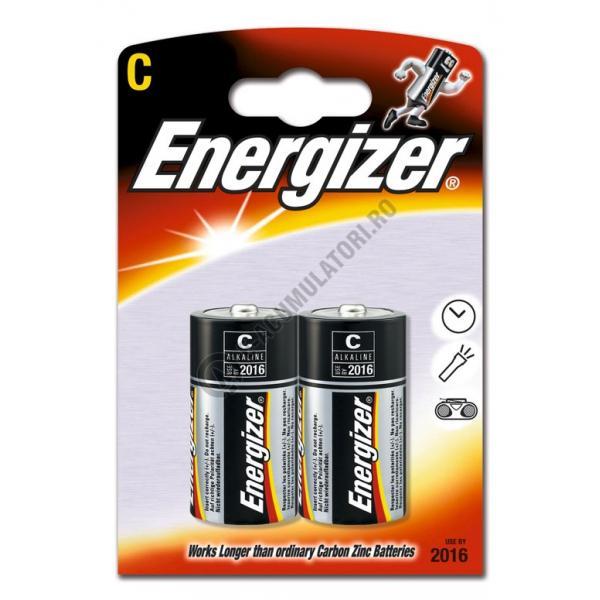 Baterii Alkaline Energizer Base C, blister de 2 buc.-big