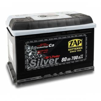 Baterie auto ZAP SILVER 80 Ah-big
