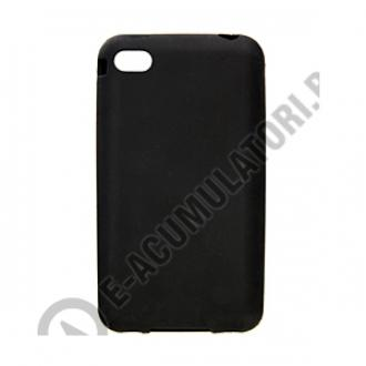 Silicone Sleeve for iPhone 5 black-big