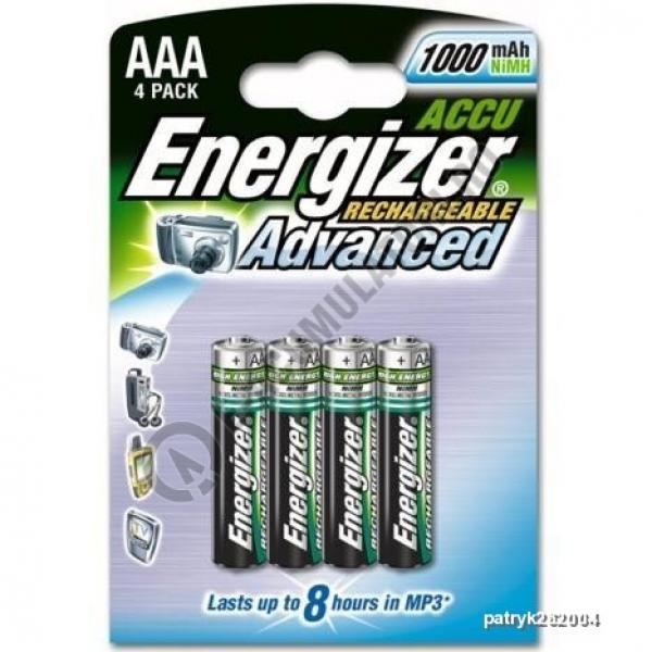 Acumulatori Energizer 1000 mAh AAA, blister de 4 buc.-big