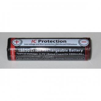 Acumulatori Li-Ion  EagleTac ET18650 ; 3,7V, 2400 mAh-big