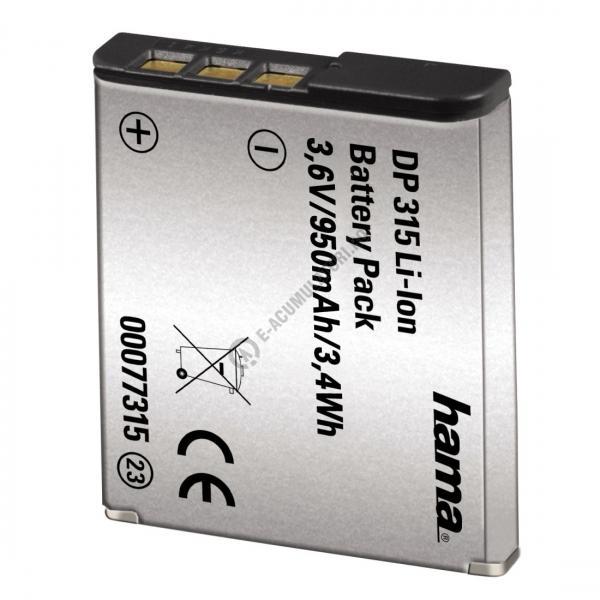 Acumulator Hama (info chip) 77315 DP315 pentru Sony-big