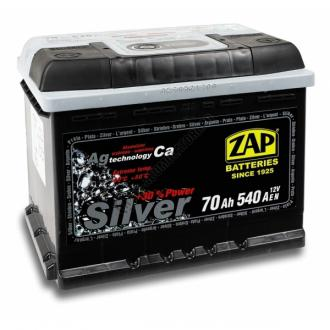 Baterie auto ZAP SILVER 70 Ah-big