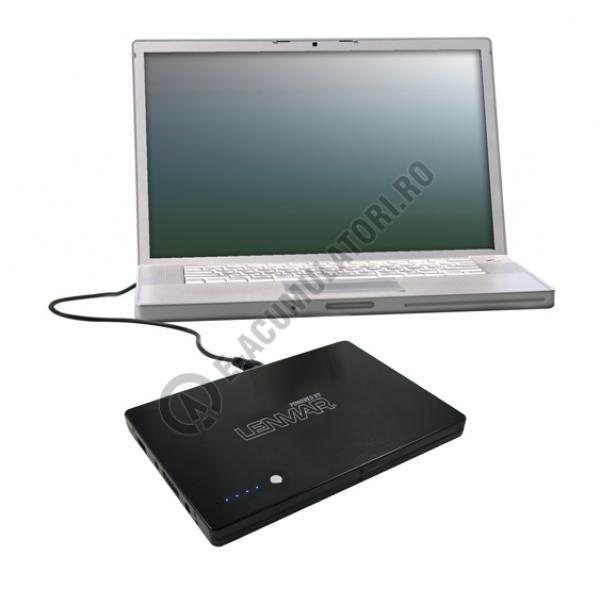 Lenmar PowerPort Laptop Baterie portabila si incarcator pentru laptop, model PPU916-big