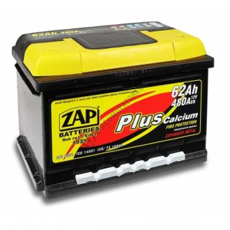Baterie auto ZAP PLUS 62 Ah-big