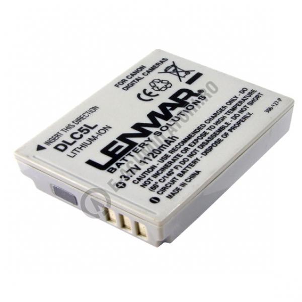 Acumulator DLC5L pentru CANON NB-5L 3.7V 1120mAh-big