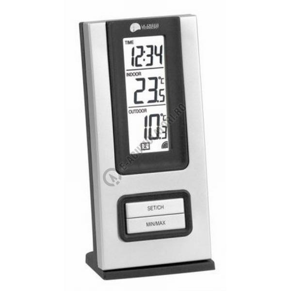 Ceas cu functie masurare temperatura interior si exterior Lacrosse WS9117-big