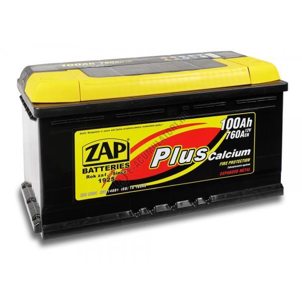 Baterie auto ZAP PLUS 100 Ah-big