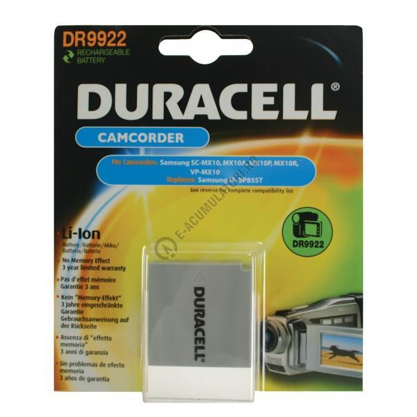 Acumulator Duracell DR9922 pentru camere video-big