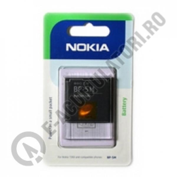 Acumulator original Nokia BP-5M, blister-big