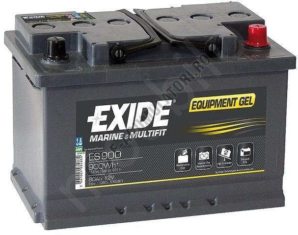 Acumulator Auto Exide GEL 80 Ah cod ES900-big