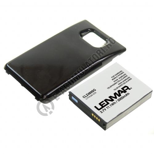 Acumulator Lenmar Li-Ion 3000mAh pentru Samsung Galaxy S2  I9100-big