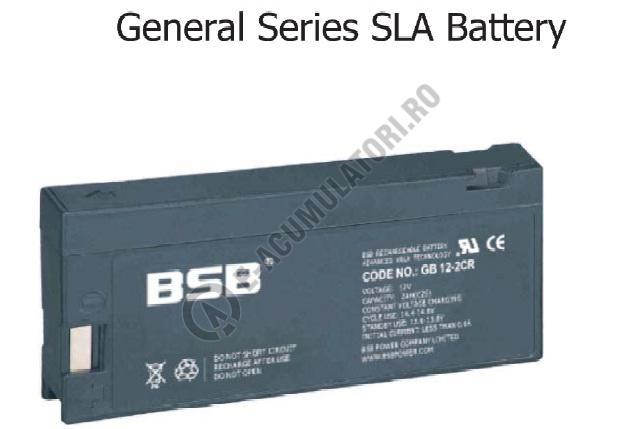 Acumulator VRLA BSB 12V 2 Ah cod GB12-2-big