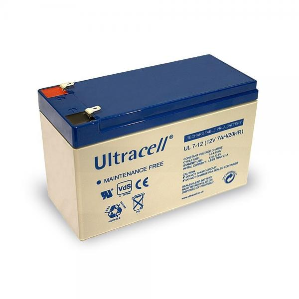 Acumulator VRLA ULTRACELL 12 V 7 Ah cod UL7-12-big