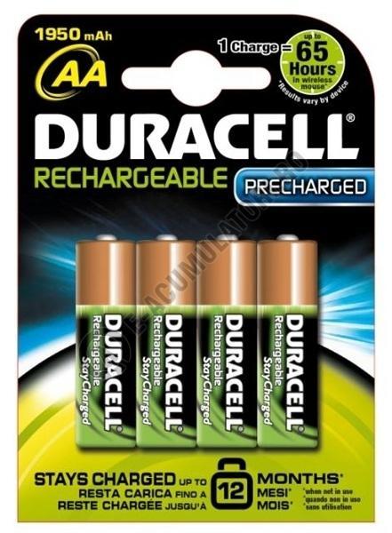 Acumulatori Duracell AA Stay Charged 2000 mAh, blister de 4 buc-big