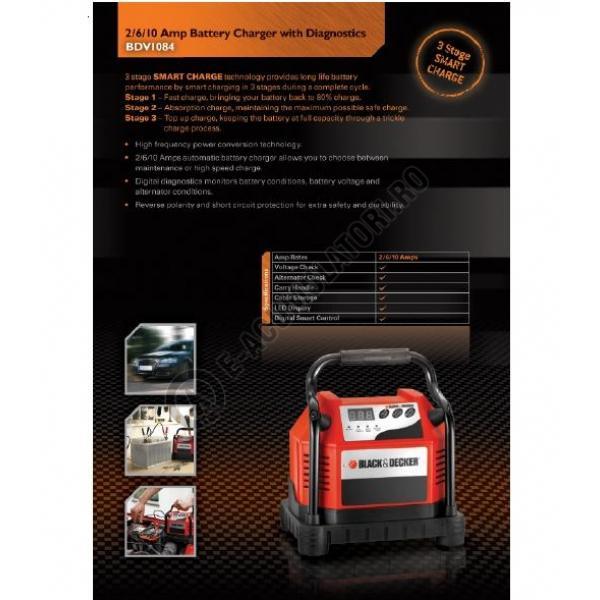 Incarcator - Redresor auto BDV 1084-big