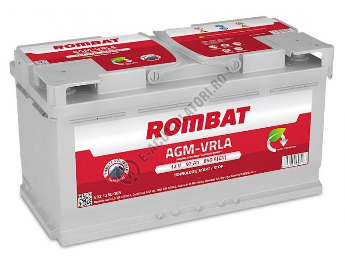 Baterie Auto Rombat AGM VRLA 92 Ah-big