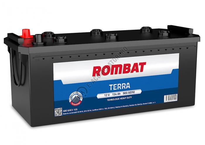 Baterie Auto Rombat Terra 12 V 105 Ah cod C13-big