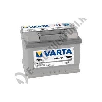 BATERIE AUTO VARTA SILVER 61 Ah cod D21 - 5614000603162-big