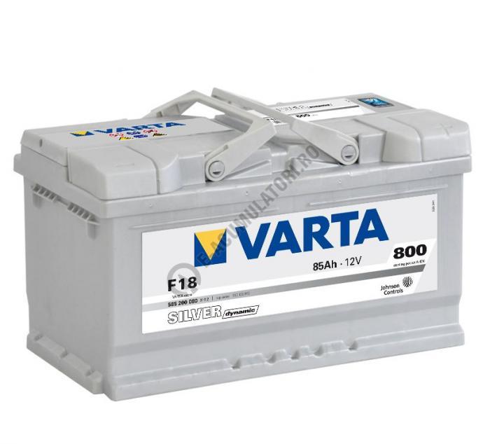 BATERIE AUTO VARTA SILVER 85 Ah cod F18 - 5852000803162-big