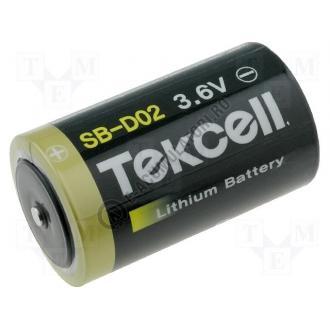 Baterie litiu Tekcell D, R20, 3,6 V, 19 Ah, cod ER34615-big