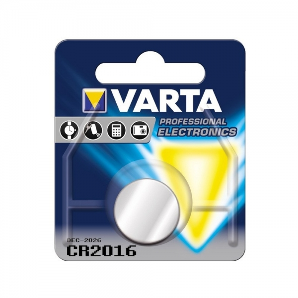 Baterie litiu Varta CR 2016 3V blister 1 buc-big