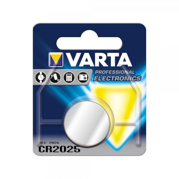 Baterie litiu Varta CR 2025 blister 1 buc-big