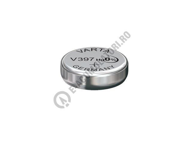 Baterie silver Varta V397, blister 1 buc-big