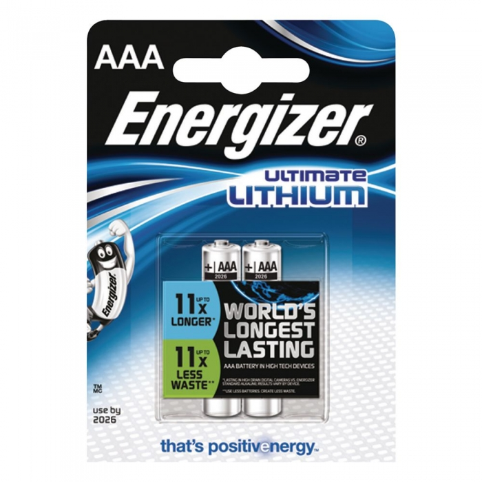 Baterii Energizer Ultimate Lithium L92 AAA blister 2 buc-big