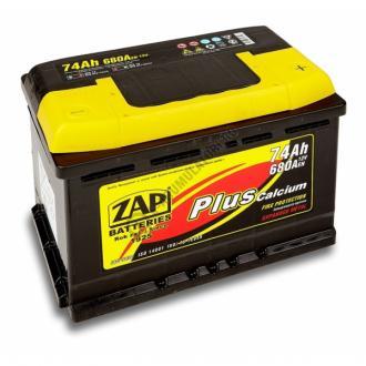 Baterie auto ZAP PLUS 74 Ah-big