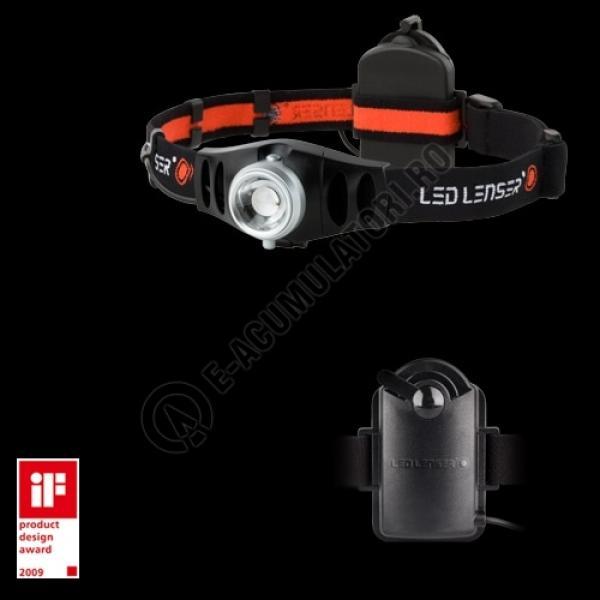 Lanterna LENSER CAP H7 3XAAA + HUSA (A8.Z7497)-big