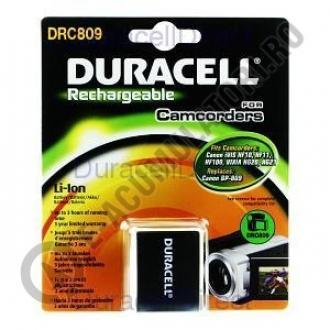 Acumulator Duracell DRC809 pentru camere video-big