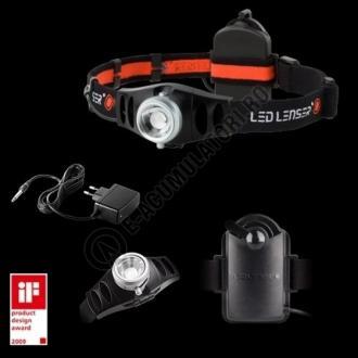 Lanterna CAP LED LENSER H7R 3XAAA + INC.(A8.Z7498)-big
