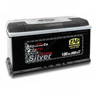Baterie auto ZAP SILVER 100 Ah-big