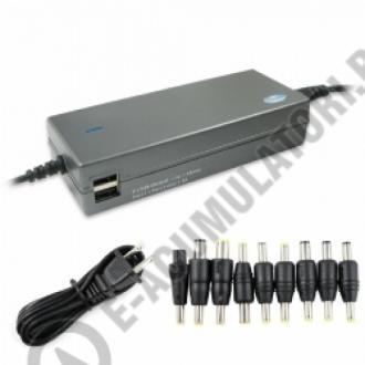 Incarcator Lenmar 120W pentru laptop cu doua porturi USB, model LAC120-big