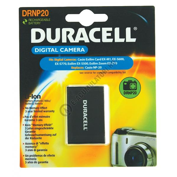 Acumulator Duracell DRNP20 pentru camere digitale-big