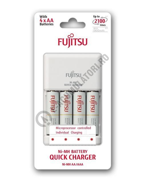 Incarcator Fujitsu include 4 acumulatori AA,1900 mAh  FCT344CEFX(CL)-big