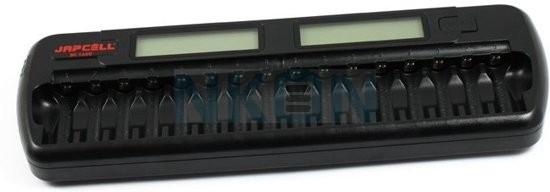Incarcator inteligent pentru AA/AAA NiMH, 16 canale, Japcell, BC-1600-big